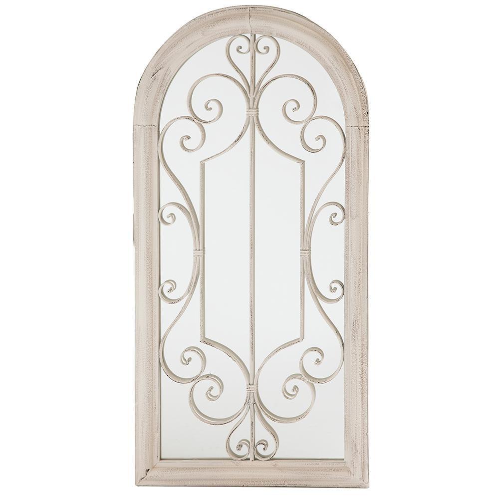 Зеркало садовое Secret de Maison EGLISE (mod. PL08-34270) металл,белый антик (antique white)