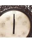 Часы Secret De Maison KING ( mod. FS-200 ) дерево манго/металл, коричневый/античная медь