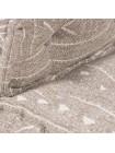 Модуль мягкий со спинкой Secret De Maison SILESIA (mod. 10098) cotton Kilim, 80х80х43см, бежевый