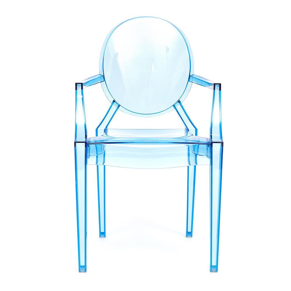 Кресло Secret De Maison Медальон (MEDALION (mod. 922)) пластик, синий