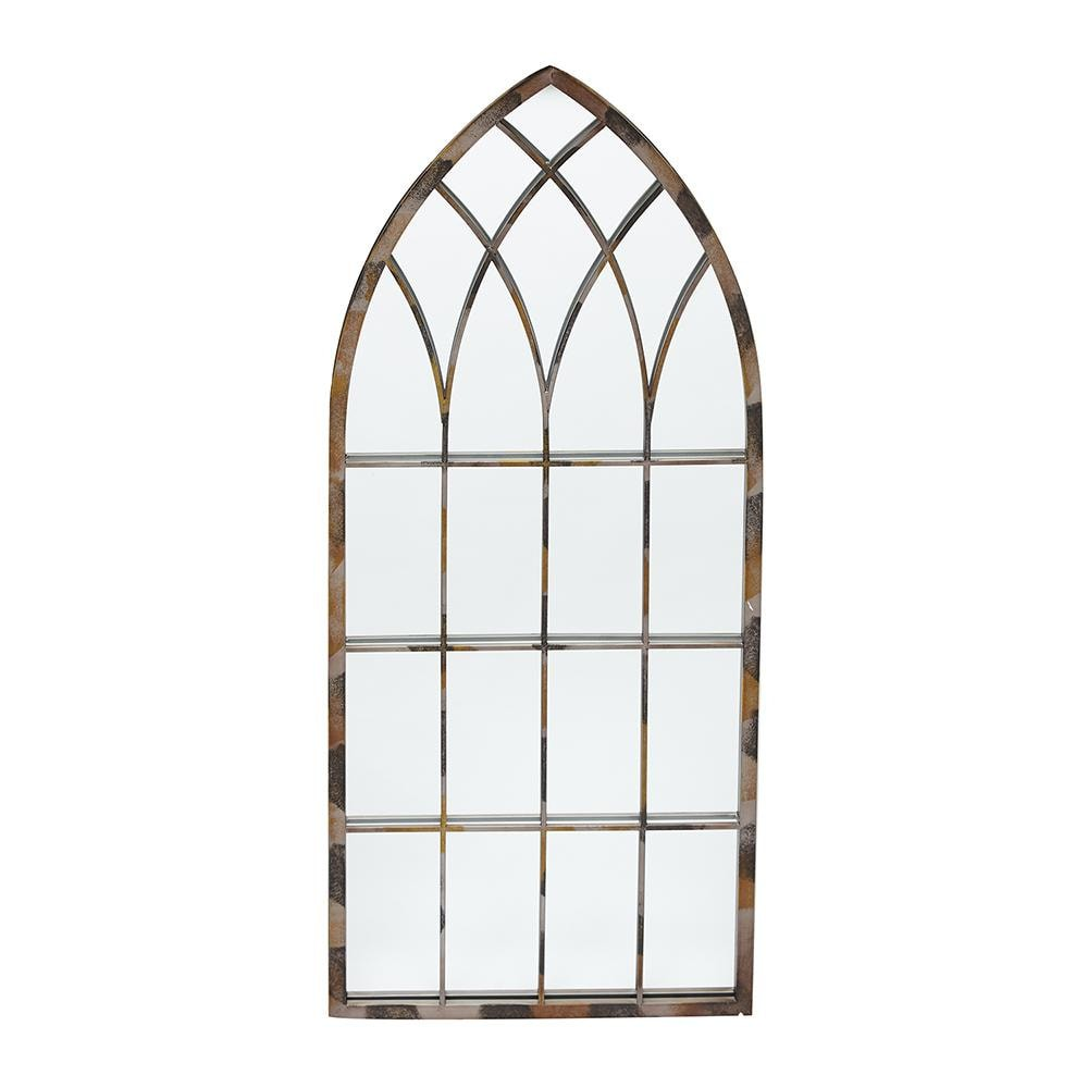 Зеркало садовое Secret de Maison MOLET (mod. PL08-9800S) металл, 50х2,5х115см, серо-коричневый