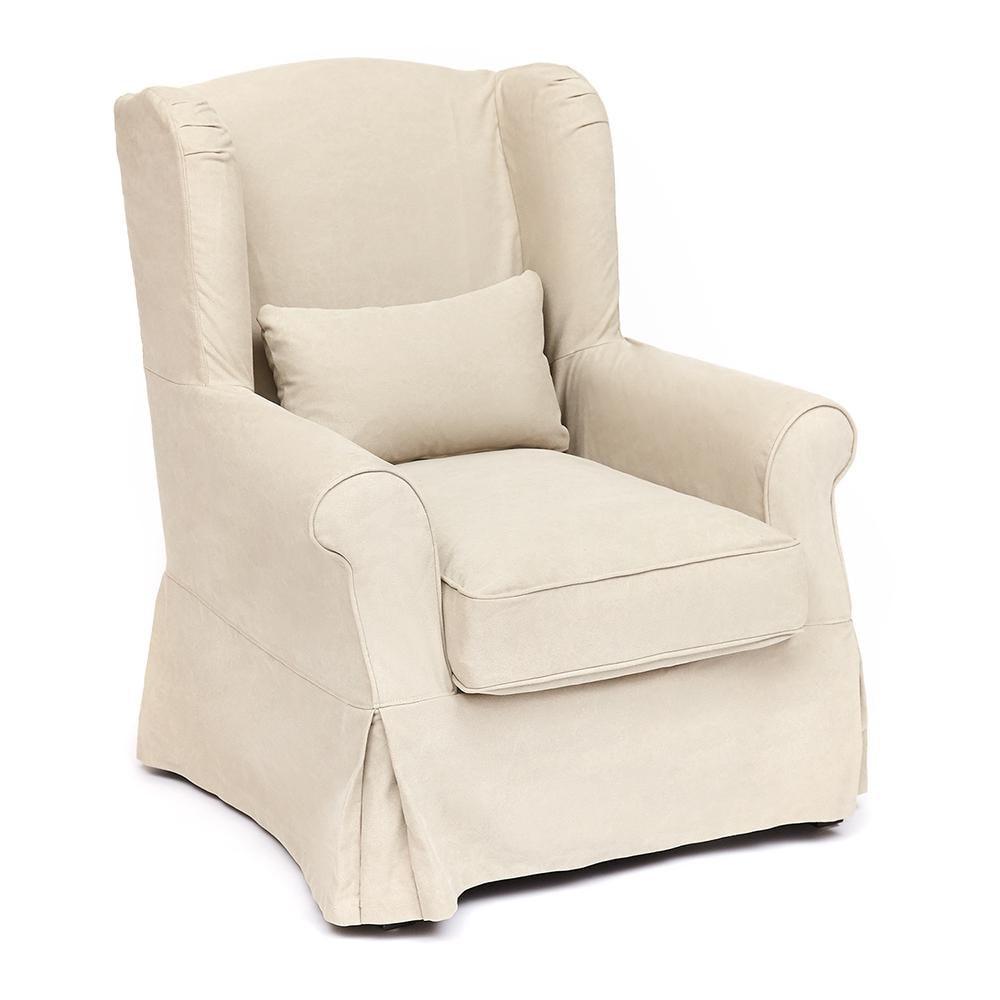 Кресло Secret De Maison Linby (mod. CC1312) дерево береза, ткань: хлопок, бежевый / AJ808-05