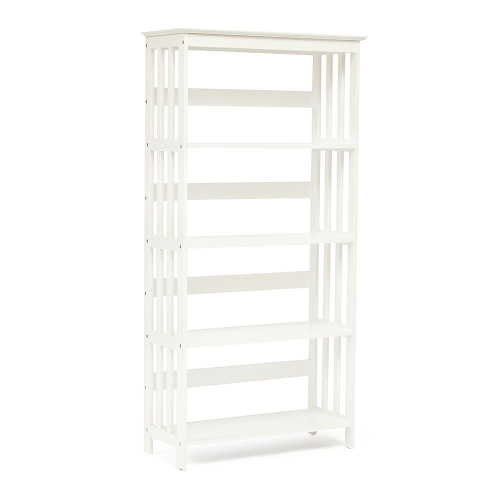Этажерка деревянная NY-3005 Белый (White)
