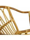 Комплект террасный AKIRA /без подушки/ skin rattan eco, 54х60х78см / D46х40см, Natural (натуральный)