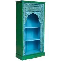 Шкаф книжный Secret de Maison Alhambra (mod. 180224) дерево, blue patina