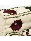 Модуль мягкий со спинкой Secret De Maison MAHARAJA (mod. MA-102) cotton Kilim, белый с цветами