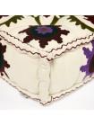 Модуль мягкий Secret De Maison MAHARAJA (mod. MA-106) cotton Kilim, 0белый с цветами