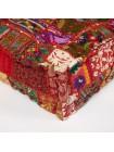 Модуль мягкий Secret De Maison GIPSY (mod. 10206) cotton patchwork, этнический красный