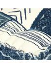 Модуль мягкий со спинкой Secret De Maison BASCO (mod. MA-105) cotton Kilim, синий