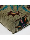 Модуль мягкий со спинкой Secret De Maison SOL (mod. MA-104) cotton Kilim, серый с цветами