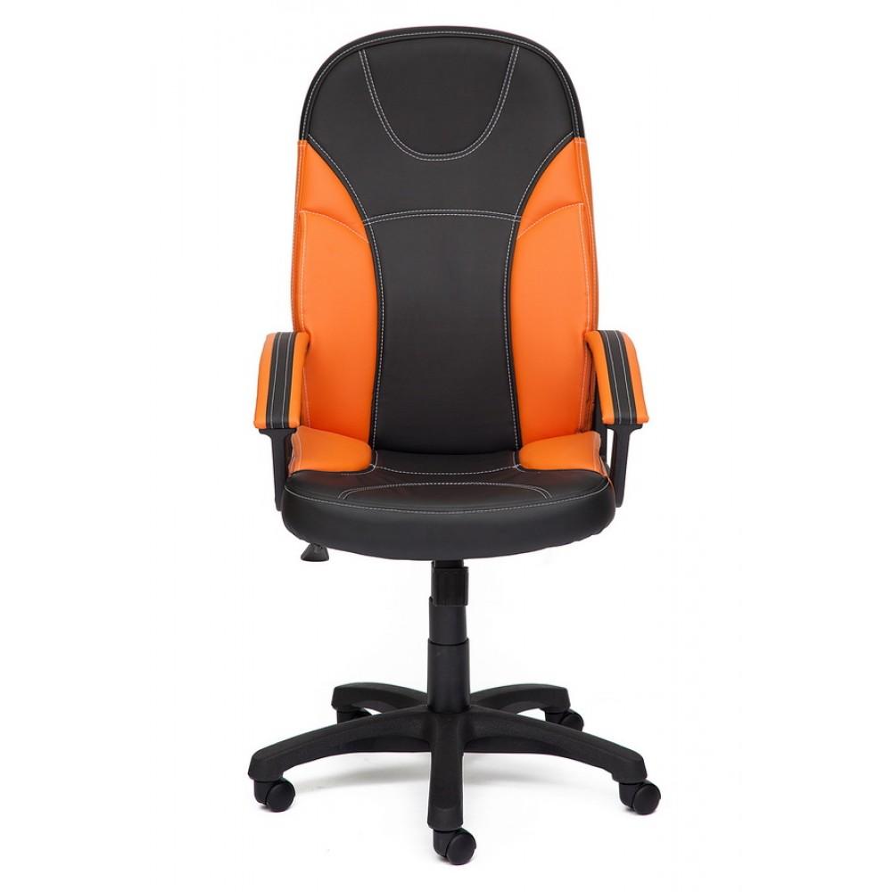 Кресло Твистер (TWISTER) — черный/оранжевый (36-6/14-43)