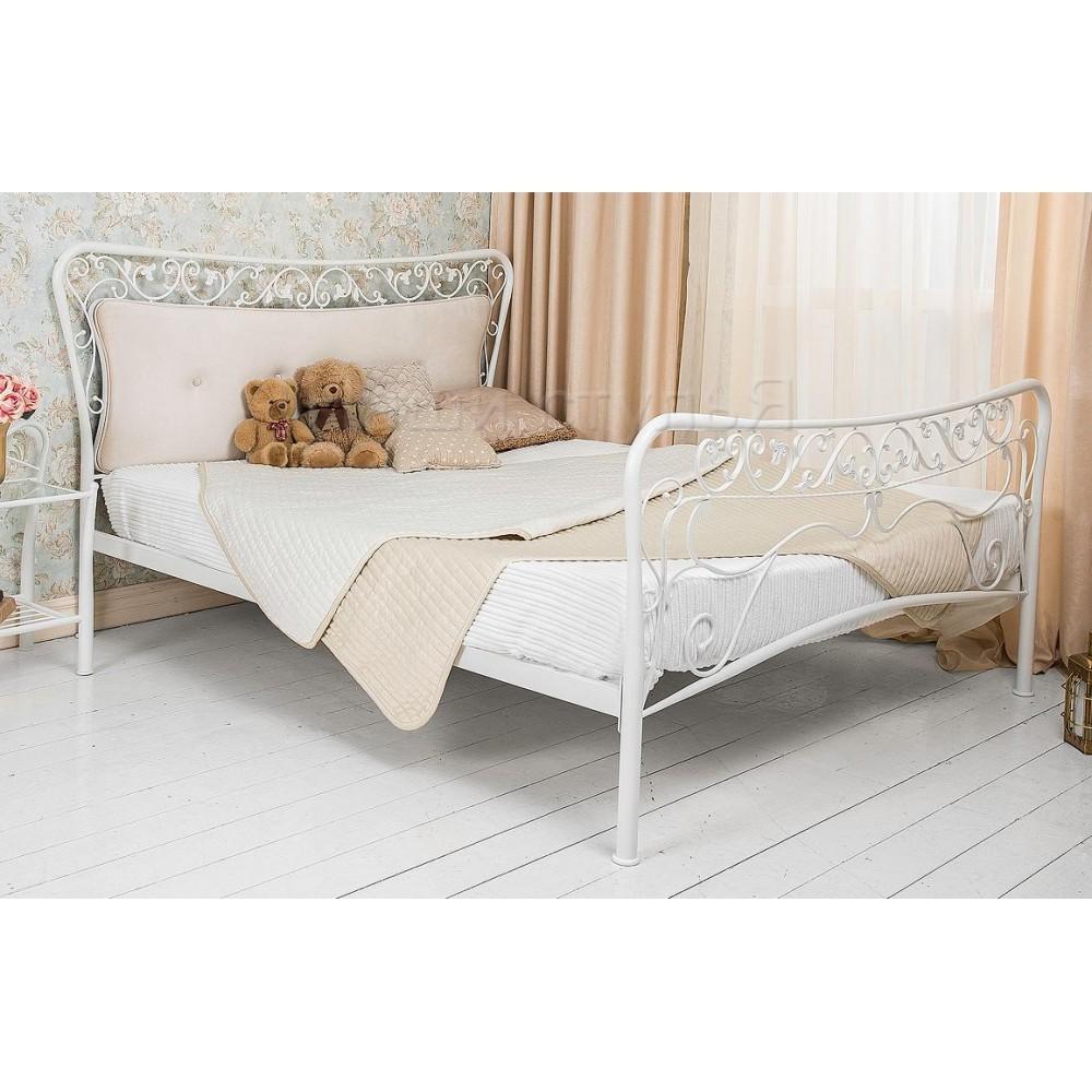 Кровать Лина (Lina 200x160) белая