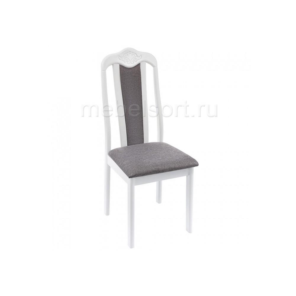 Стул деревянный Арон (Aron) Soft white / light grey