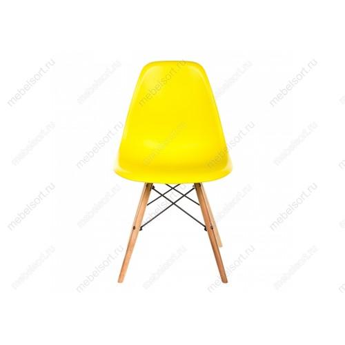 Стул деревянный Эймс (Eames) PC-015 yellow