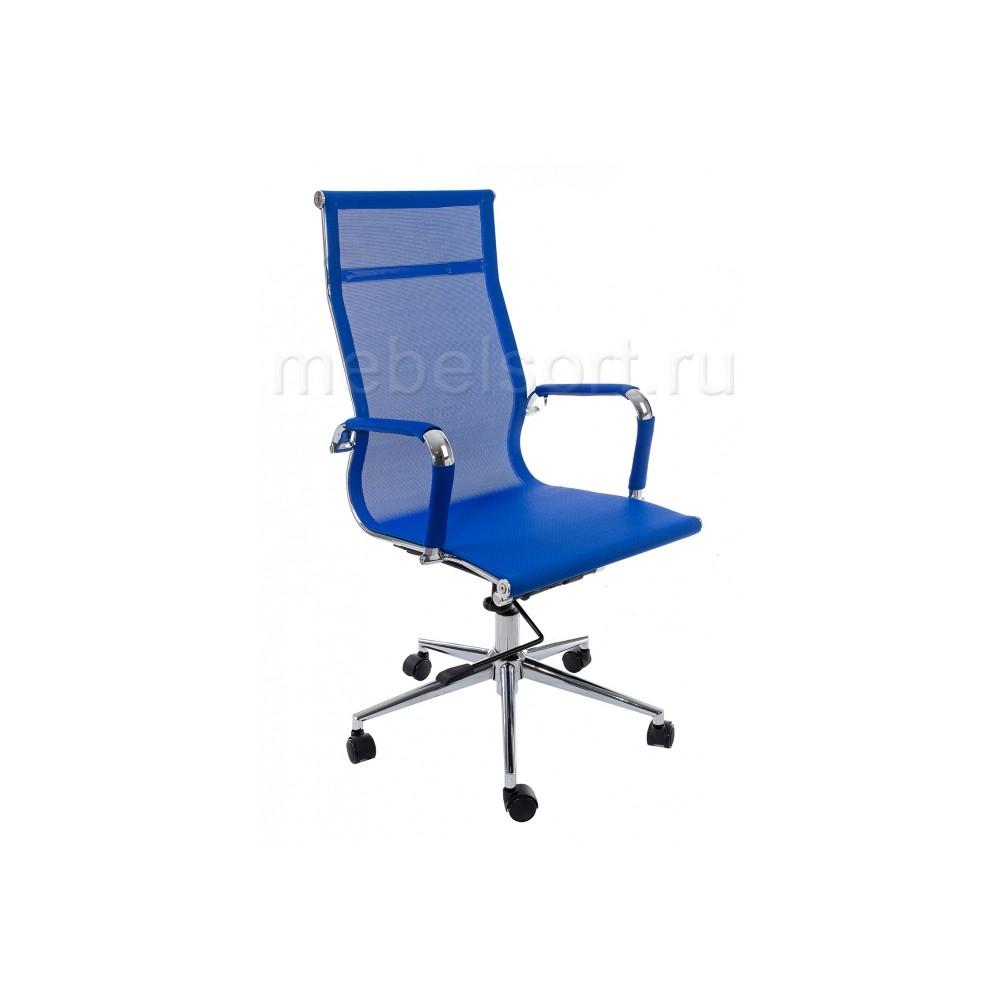 Компьютерное кресло Реус (Reus) темно-синее