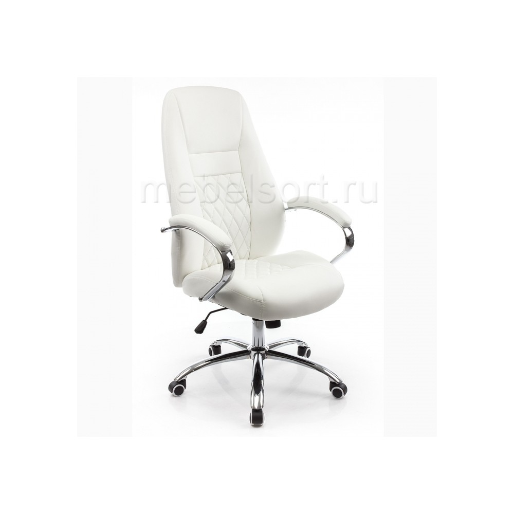 Компьютерное кресло Арагон (Aragon) белое