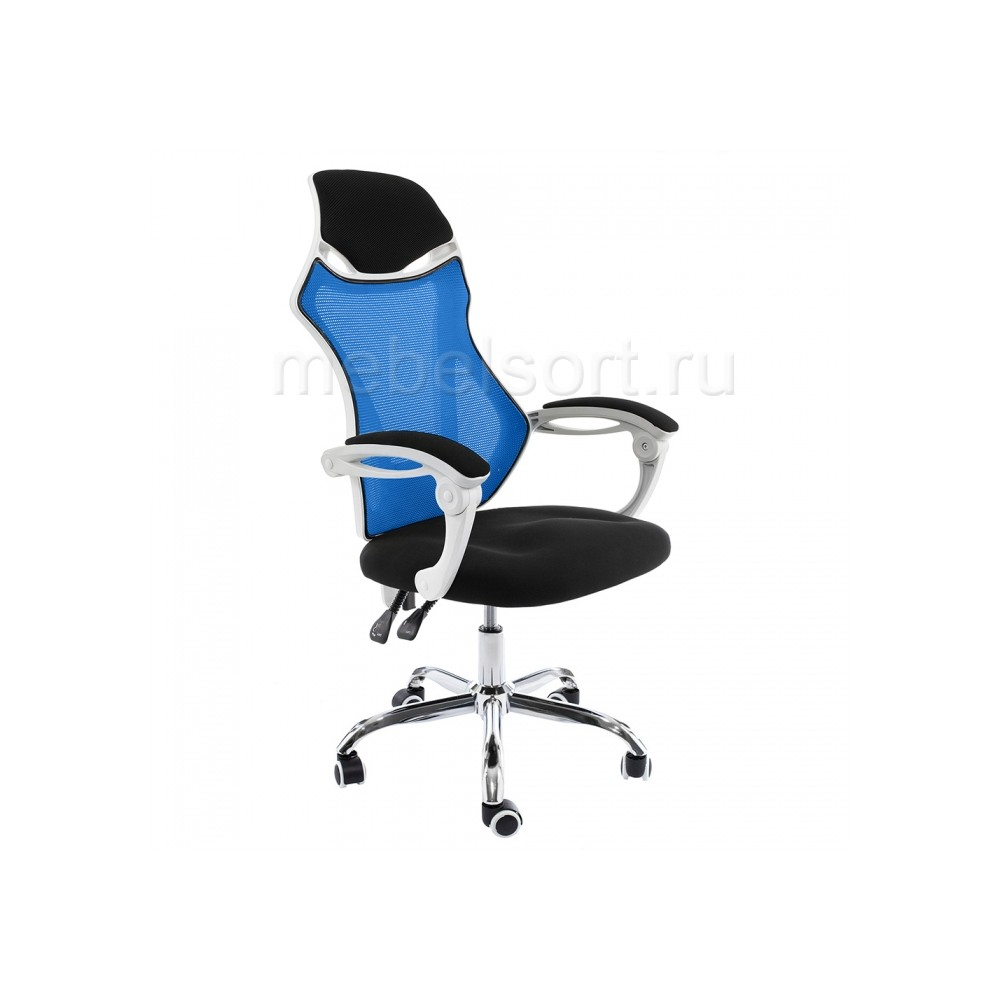 Компьютерное кресло Армор (Armor) белое / черное / голубое