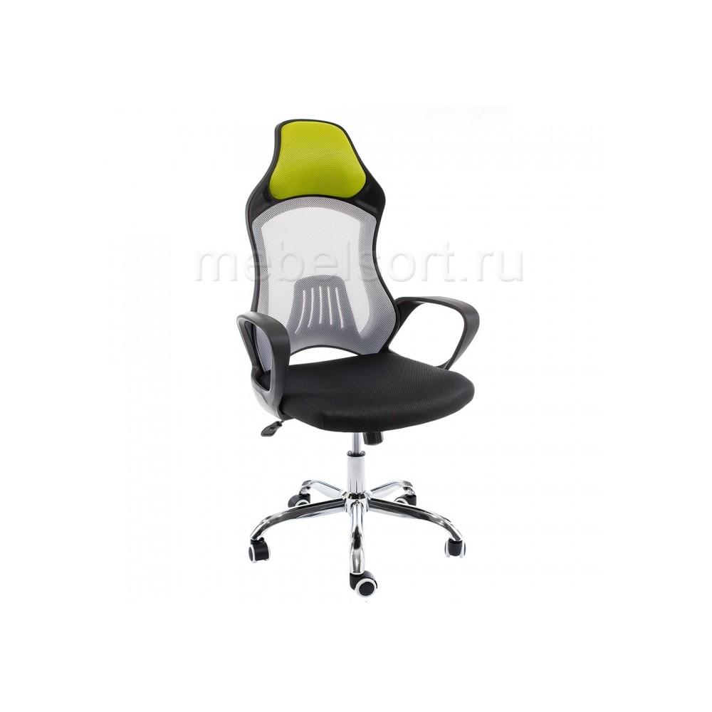 Компьютерное кресло Атлант (Atlant) белое / черное / зеленое