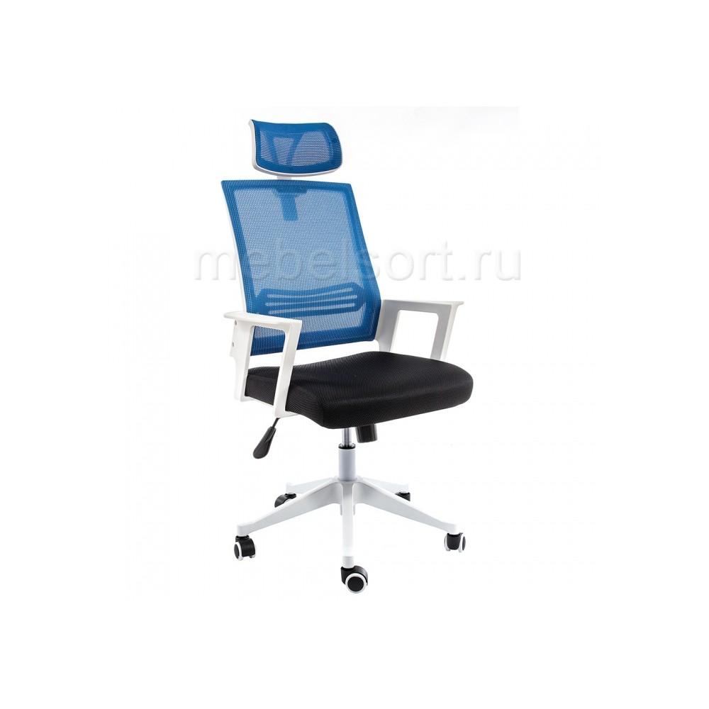 Компьютерное кресло Дример (Dreamer) белое / черное / голубое