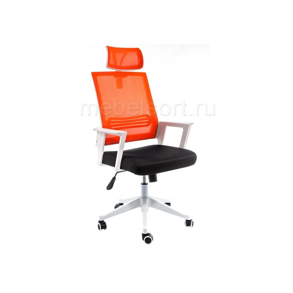 Компьютерное кресло Дример (Dreamer) белое / черное / оранжевое