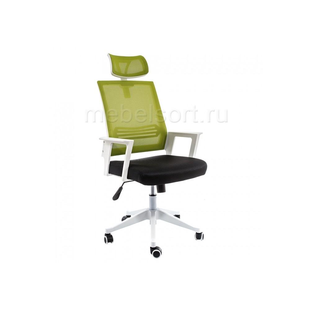 Компьютерное кресло Дример (Dreamer) белое / черное / зеленое