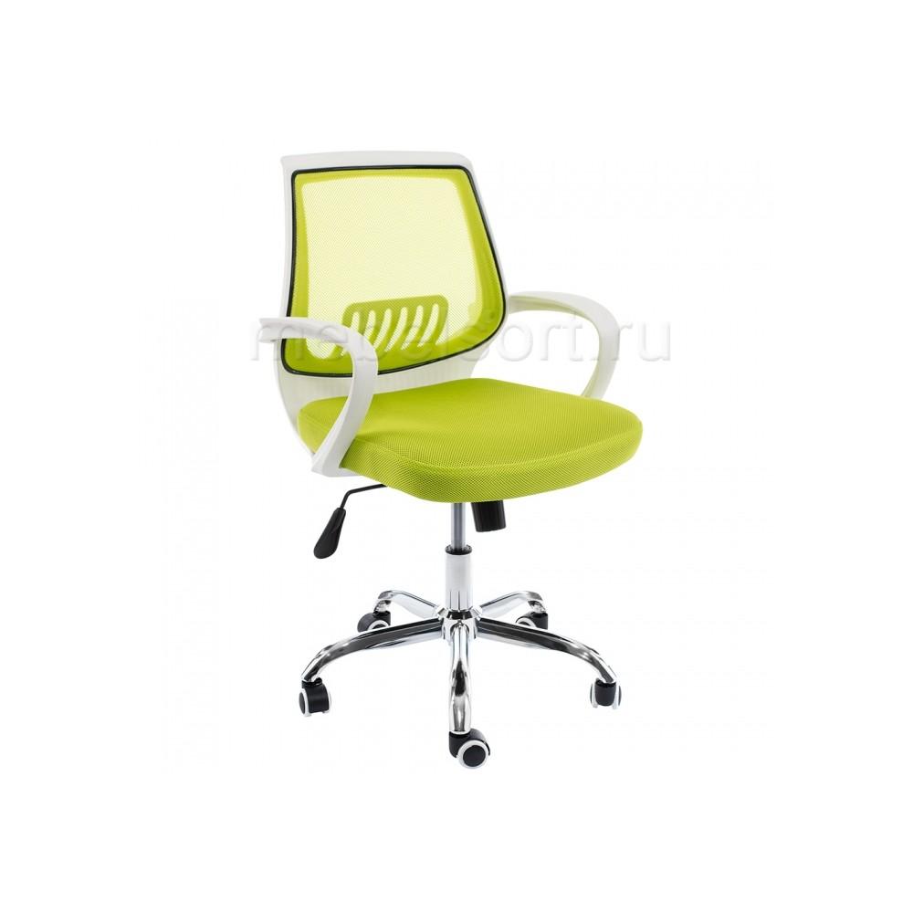 Компьютерное кресло Ергоплюс (Ergoplus) белое / зеленое