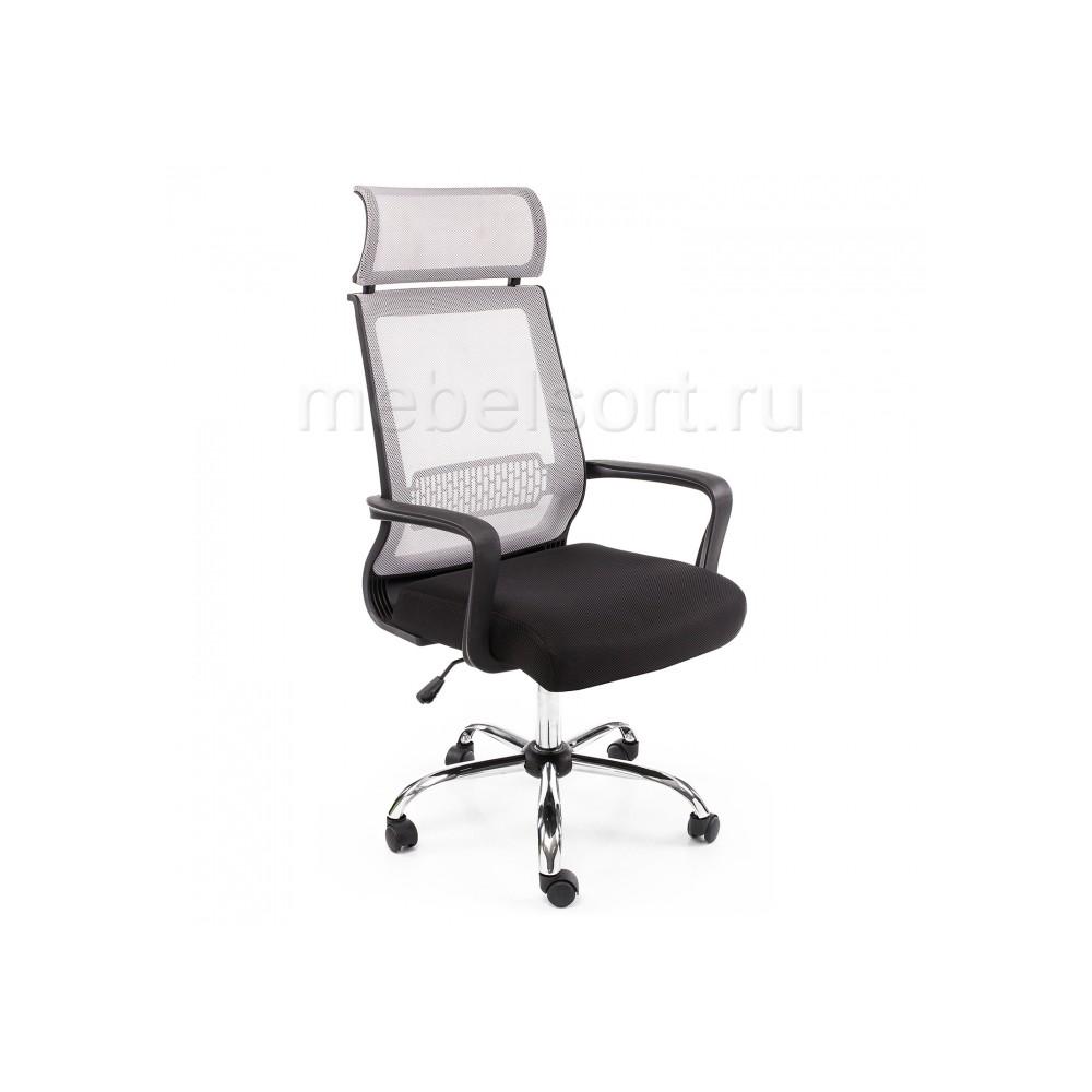 Компьютерное кресло Лион (Lion) серое