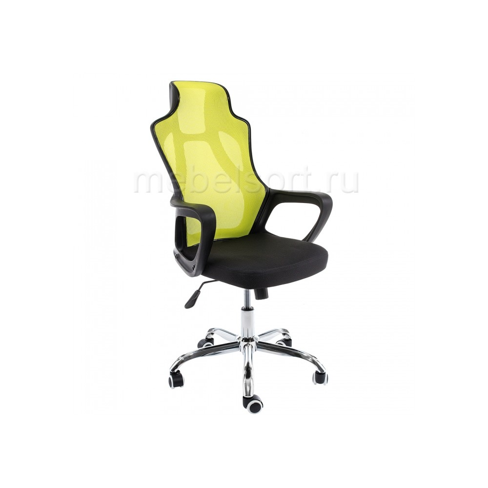 Компьютерное кресло Локал (Local) черное / зеленое