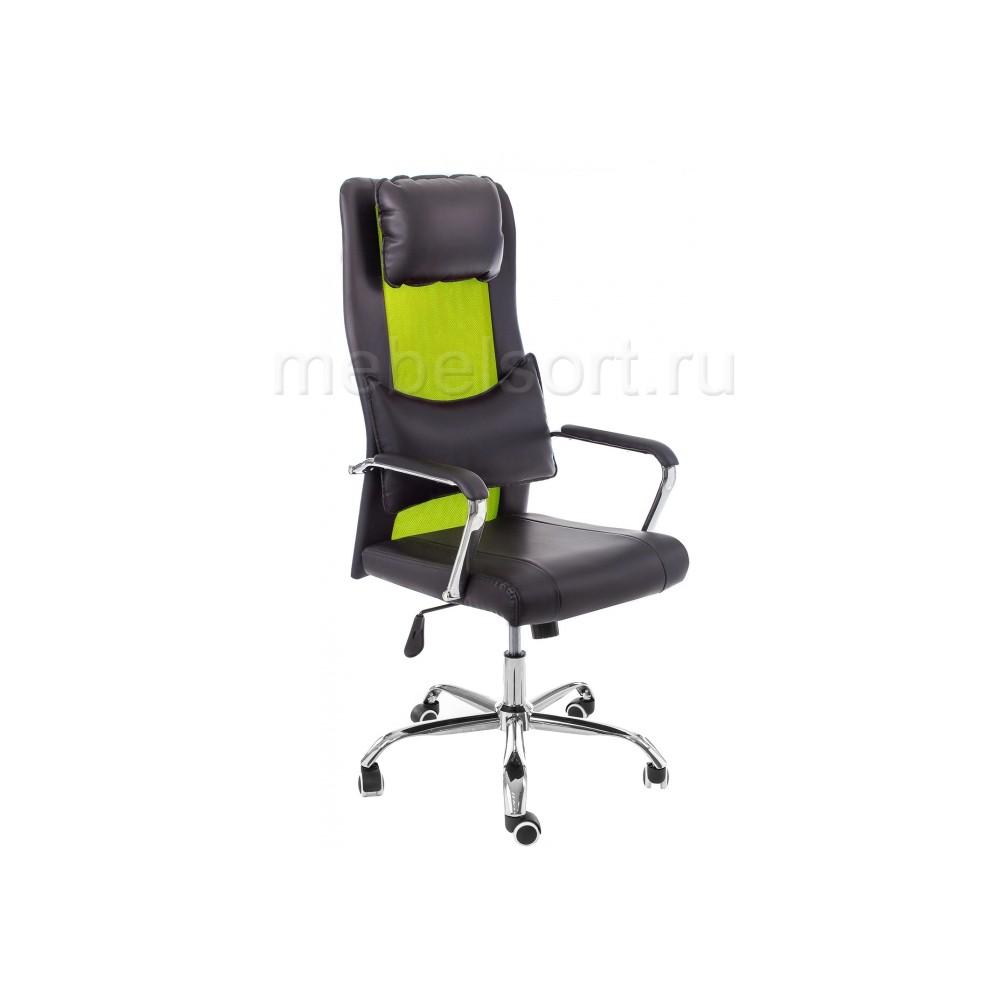 Компьютерное кресло Уник (Unic) черное / зеленое