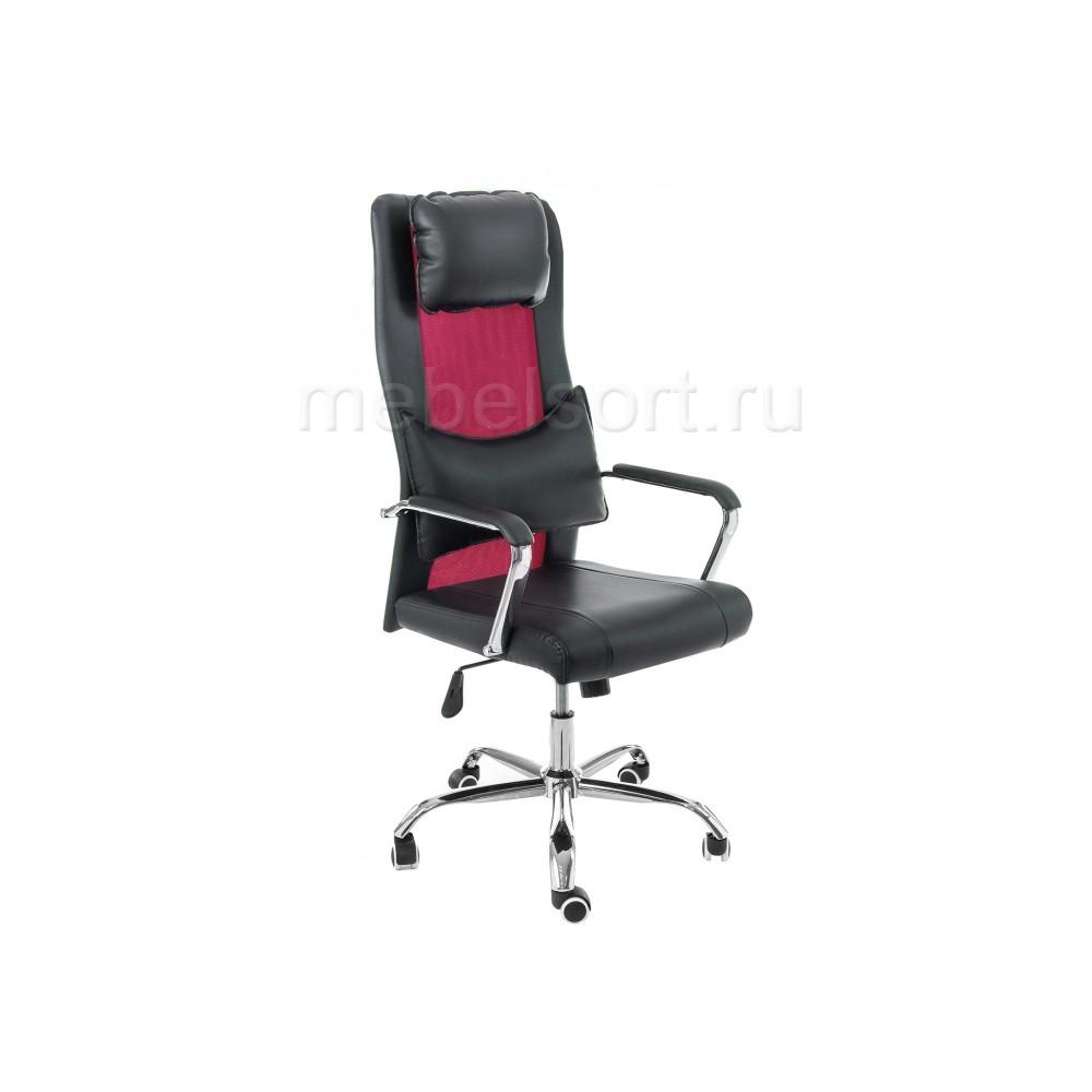 Компьютерное кресло Уник (Unic) черное / фиолетовое