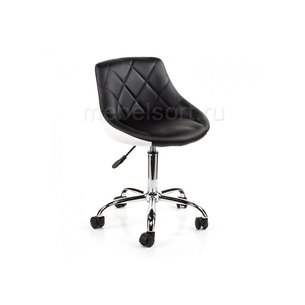 Кресло компьютерное Комби (Combi) черный / белый
