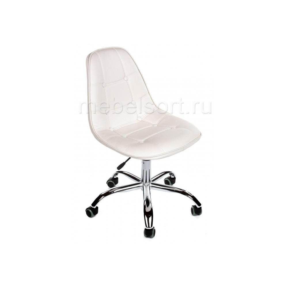 Компьютерное кресло Эймс (Eames PC-306) на колесах белый